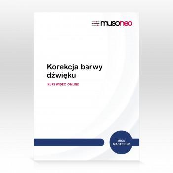Musoneo - Korekcja barwy dźwięku - Kurs video PL (wersja elektroniczna)
