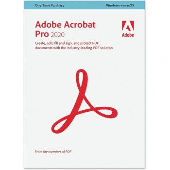 Adobe Acrobat Pro 2020 Pro PL Win/Mac Uaktualnienie – licencja rządowa