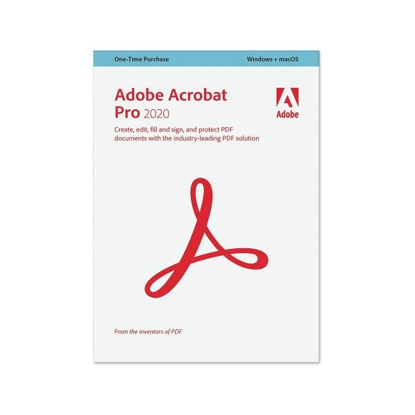 Adobe Acrobat Pro 2020 PL Win/Mac