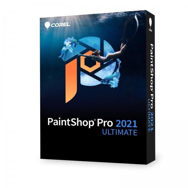Corel PaintShop Pro 2021 ULTIMATE Mini Box ENG