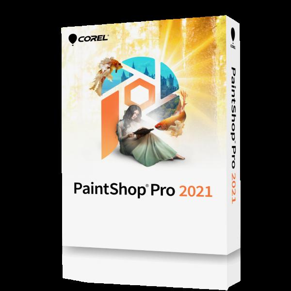Corel PAINTSHOP PRO 2021 EN Win - BOX