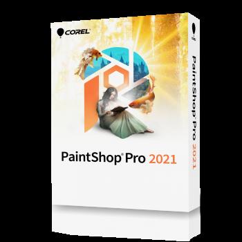 Corel PAINTSHOP PRO 2021 EN Win - elektroniczna