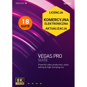 Vegas Pro 18 SUITE (aktualizacja)