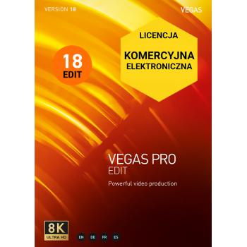 VEGAS PRO 18 EDIT (komercyjna, cyfrowa)