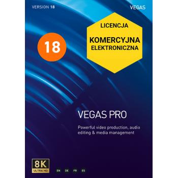 VEGAS PRO 18 (komercyjna, cyfrowa)