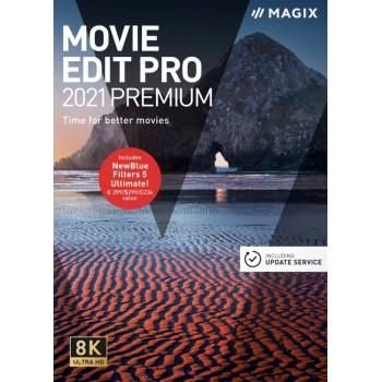 MAGIX Movie Edit Pro Premium (2021) - ESD - cyfrowa - Edu i Gov