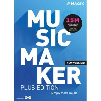 MAGIX Music Maker Plus 2021 - ESD - cyfrowa - Edu i Gov
