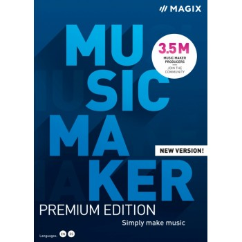 MAGIX Music Maker Premium Edition - BOX