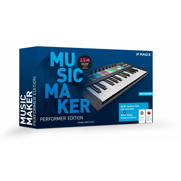 MAGIX Music Maker Performer Edition 2021 - Box
