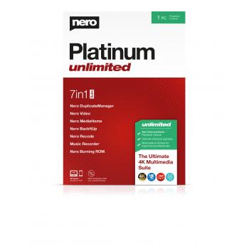 Nero 2020 Platinum Unlimited BOX (licencja dożywotnia)