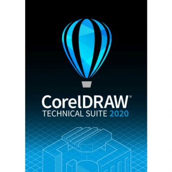 Corel DRAW Technical Suite 2020 Win - elektroniczna