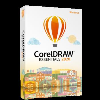 CorelDRAW® Essentials 2020 (POLSKI) - licencja komercyjna, domowa- WINDOWS- lic. wieczysta, elektroniczna