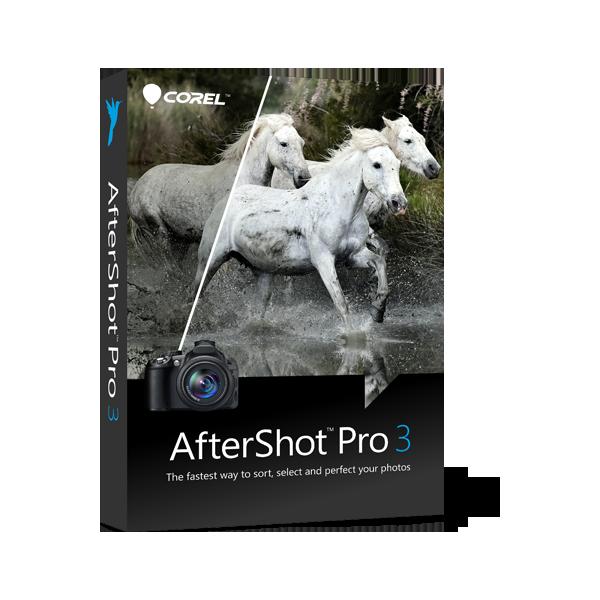 AfterShot Pro 3 EN (Win, Mac)- Edytor plików RAW - NOWA licencja elektroniczna, wieczysta