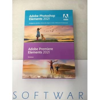Adobe Photoshop & Premiere Elements 2021 WIN PL BOX