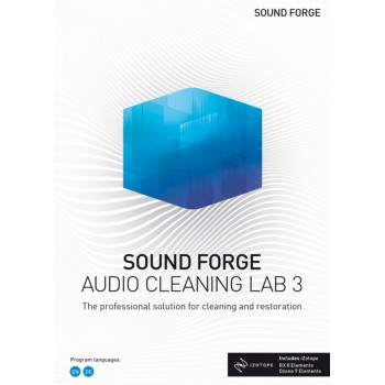 SOUND FORGE Audio Cleaning Lab 3 Esd