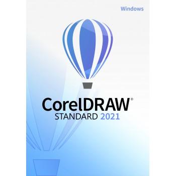 CorelDRAW Standard 2021 PL WINDOWS - elektroniczna