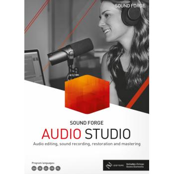 SOUND FORGE Audio Studio 15 - ESD