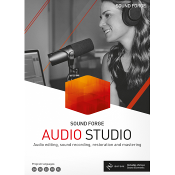 SOUND FORGE Audio Studio 15 - Box