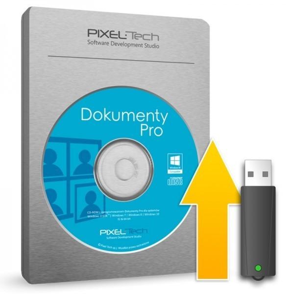 Dokumenty Pro 8 – BOX z kluczem USB – Uaktualnienie