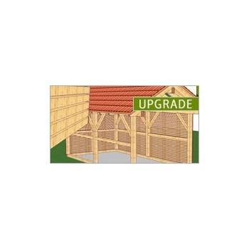 Upgrade do WoodCon 8 Dach + Ściana