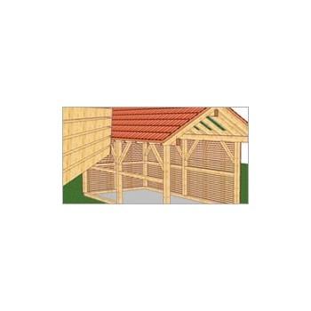 Pakiet WoodCon 8 Dach + Ściana