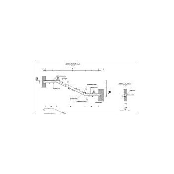 Konstruktor - Rysunki DXF - Schody płytowe