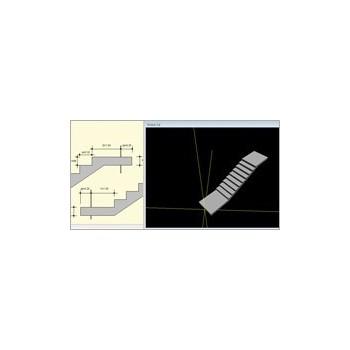 Konstruktor - Schody płytowe