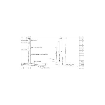 Konstruktor - Rysunki DXF - Ściana oporowa