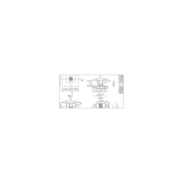 Konstruktor - Rysunki DXF - Fundamenty bezpośrednie