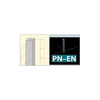 Konstruktor - Słup żelbetowy Eurokod PN-EN