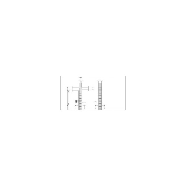 Konstruktor - Rysunki DXF - Słup żelbetowy