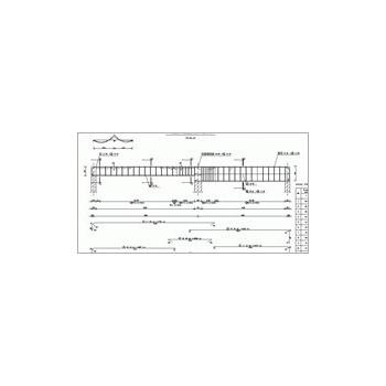 Konstruktor - Rysunki DXF - Belka żelbetowa