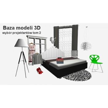 Baza modeli 3D - wybór projektantów tom 2
