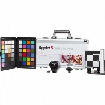 Spyder5CAPTURE PRO - profesjonalny zestaw dla fotografa: kalibrator Spyder5ELITE + SpydeCHECKR + SpyderCUBE + SpyderLENS