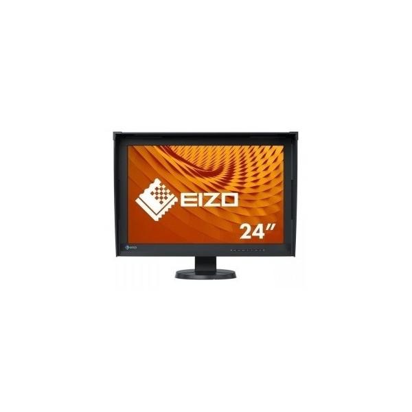 """EIZO Monitor LCD 24,1"""" CG247X-BK, ColorEdge, kalibracja sprzętowa, zintegrowany kalibrator, AdobeRGB, 1920x1200, czarny."""