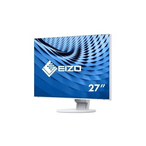 """EIZO 4K Monitor LCD 27"""" EV2785-WT, Wide 3840 x 2160 (16:9), IPS, LED, ultra slim, USB-C, biała obudowa."""